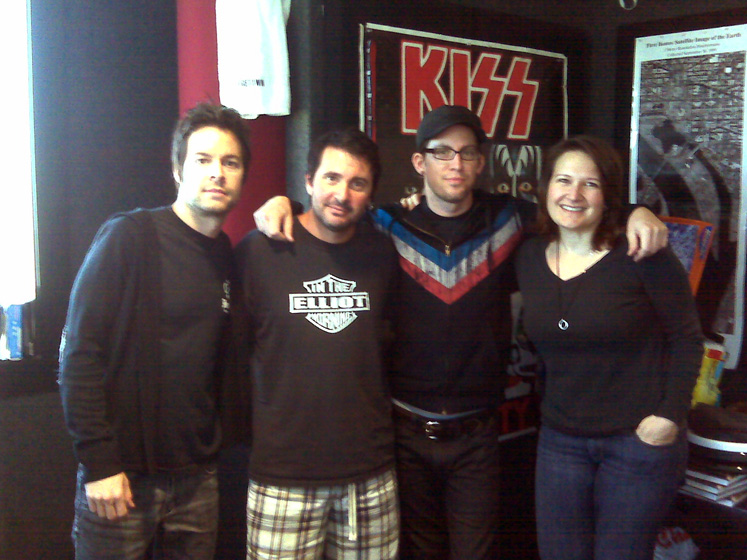 Chevelle Visits Wwdc Alternative Artist Band And Radio
