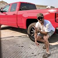 Rhett Walker Shows off His New Footwear