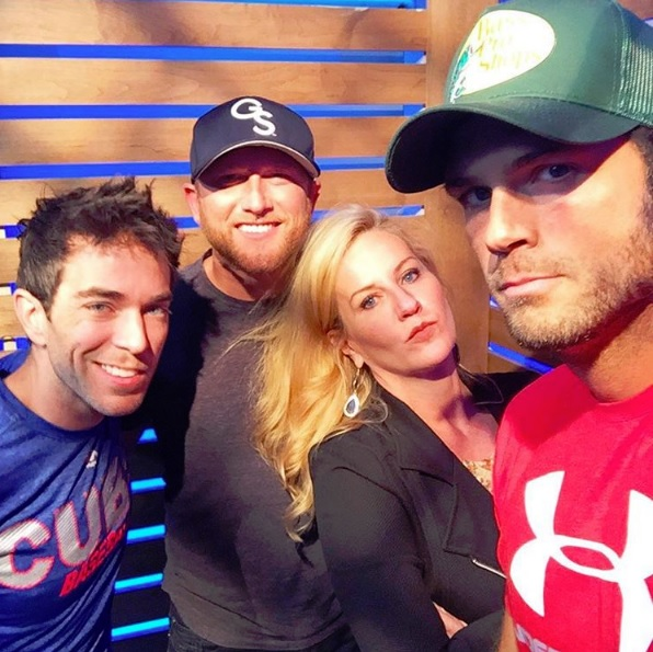 Warner Bros , WMN, Cole Swindell, Cumulus, America's Morning