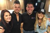 Chase Bryant And Lindsay Ell Hang With KUZZ/Bakersfield
