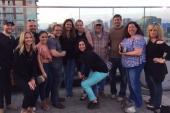 Nashville's Cumulus Radio Staff Enjoys BMI Rooftop Party