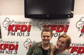 Hunter Hayes Headlines KFDI/Wichita Listener Appreciation Show