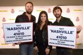 Lady Antebellum Take The Stage In Nashville