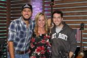 Luke Bryan Visits 'Ty, Kelly & Chuck'