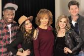 Reba McEntire Hangs With NBC-TV's 'The Voice' Alums