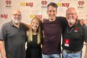 Russell Dickerson Continues Radio Tour With WKSJ/Mobile, AL