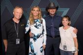 Tim & Faith Perform In Pittsburgh