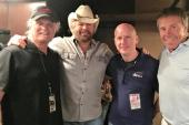 Toby Keith Hangs With KIIM/Tuscon