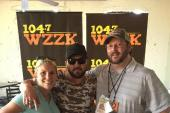 Tyler Farr Hangs With WZZK/Birmingham