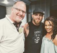 Brantley Joins Catches Up With Radio Friends At KEEY/Minneapolis