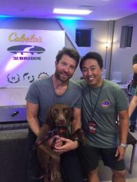 Brett Eldredge Catches Up With KKBQ/Houston's Johnny Chiang