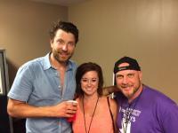 Brett Eldredge Hangs Backstage With WIL/St. Louis