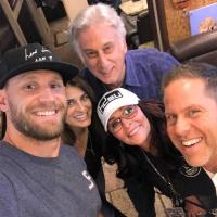 Chase Rice Hangs With Charlie Cook