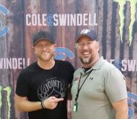 Cole Swindell Hangs With WSCH/Aurora