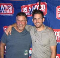 "Jake Owen In ""Good Company"" With Detroit Radio Pal"