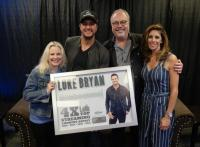 Luke Bryan Surprised With Top Streaming Country Artist Plaque