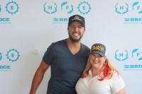 Luke Bryan Hangs With 'Country With Carsen'
