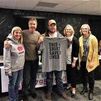 Luke Combs Helps Save Lives With WKKT/Charlotte