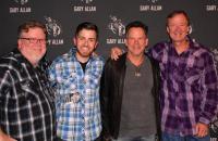 Gary Allan Visits Radio Friends In Oklahoma City