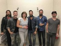 Old Dominion Hangs With KSON/San Diego's Brooks O'Brian