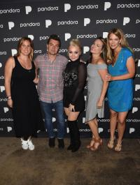 RaeLynn Poses Backstage At Pandora's 'Sounds Like Country' Show