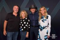 Tim & Faith Hang With WYCD/Detroit