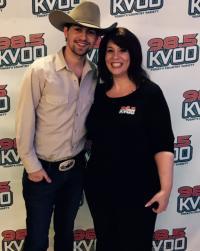 William Michael Morgan Visits KVOO/Tulsa