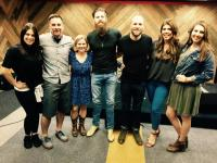 Jordan Davis Visits WSIX/Nashville