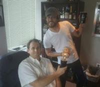 Chris Janson Teaches WUBL/Atlanta How To 'Fix A Drink'