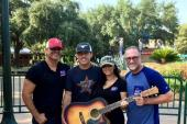 Aaron Watson Hangs With KKBQ/Houston