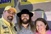 CJ Solar Performs At 'Pensacola Beach Songwriters Festival'