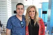 Clare Dunn Hangs In Miami Beach