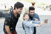 Dan + Shay Hang With Mason Ramsey At iHeartCountry Festival