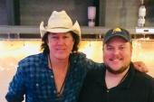 David Lee Murphy Hangs In Indianapolis