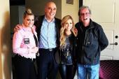 Lauren Alaina, Lindsay Ell Hang With Bob Kingsley