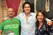 Joe Nichols Wakes Up With WNCY/Green Bay