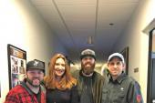 Jordan Davis Visits WUBL/Atlanta