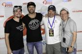 Kip Moore Hangs With WKIS/Miami