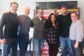 Krystal Keith, Lance Carpenter Visit KPLX/Dallas