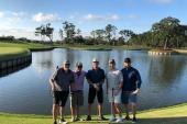 Scotty McCreery Hits The Golf Course