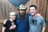 Chris Stapleton Catches Up With Country Radio Friends