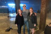 Travis Denning Hangs With KFDI/Wichita, KS