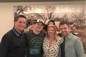 Travis Denning Visits KJKE/Oklahoma City