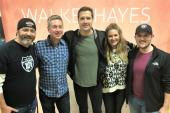 Walker Hayes Hangs With WUSY/Chattanooga