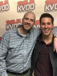 Cale Dodds Stops By KVOO/Tulsa