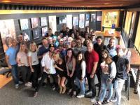 Chris Janson Celebrates With Warner Music Nashville Family
