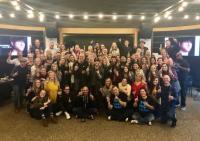 Cole Swindell & Warner Music Nashville Family Celebrate #1 Single