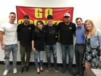 Granger Smith Visits KKGO/Los Angeles