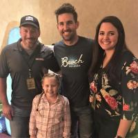 Jake Owen Hangs With WCOL/Columbus