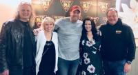 Krystal Keith & Lance Carpenter Visit KRTY/San Jose